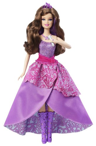 Barbie バービー The Princess & the Popstar 2-in-1 Transforming Keira Doll 人形 ドール