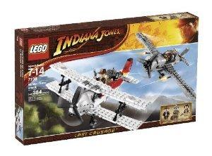 LEGO (レゴ) Indiana Jones (インディジョーンズ) Fighter Plane Attack (7198) ブロック おもちゃ