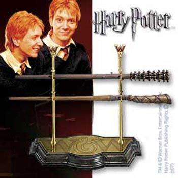 ハリーポッター フレッド&ジョージ・ウィーズリー兄弟専用魔法の杖レプリカモデル