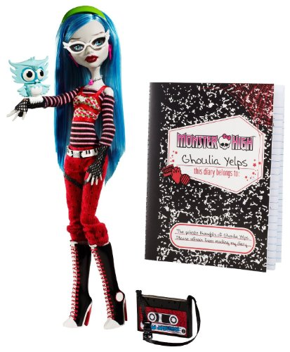 Monster High モンスターハイ Ghoulia Yelps Doll with Pet Owl Sir Hoots A Lot 人形 ドール