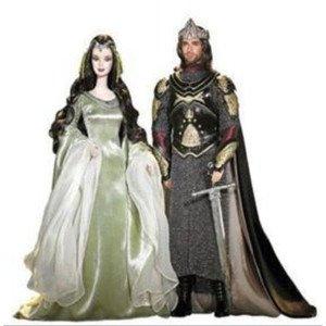 Lord of The Rings Arwen Barbiロードオブリング バービーフィギュア人形 1/6