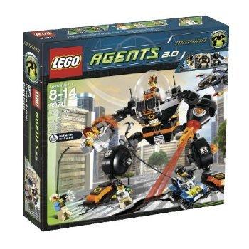 LEGO Agents Robo Attack (8970) おもちゃ