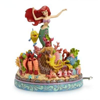 ディズニー(Disney)US公式商品 リトルマーメイド アリエル Ariel プリンセス フィギュア 置物 ジムショア