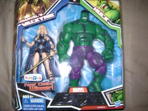 マーベル レジェンド Marvel Legends 6インチ 2パック バルキリー + ハルク