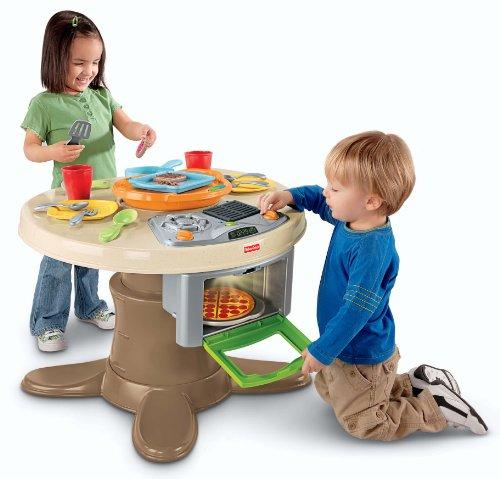 Fisher Priceフィッシャープライス製 キッチンテーブル(トイキッチン・ままごと遊び・ままごとセット)