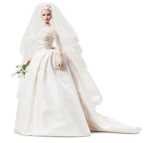 Mattel's Barbie バービー Princess Grace Kelly Bride in Silkstone 人形 ドール