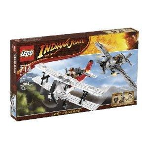 レゴ Indiana Jones Fighter Plane Attack (7198)
