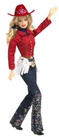 Western Chic Barbie(バービー) Doll Collector Edition (2001) is new in Mattel (マテル社) Barbie(バ