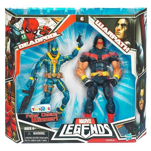 【超特価sale開催】 マーベル レジェンド マーベル Marvel Legends 6インチ レジェンド Legends 2パック デッドプール [赤] +ワーパス, U-CLUB:2d6229d5 --- blablagames.net