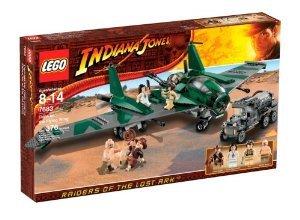 LEGO (レゴ) Indiana Jones (インディジョーンズ) Fight on the Flying Wing (7683) ブロック おもちゃ