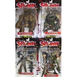 Spawn シリーズ 12 Repaint Action フィギュア Set of 4
