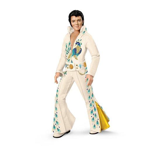 Elvis Presley: Peacock Jumpsuit Fashion Doll by Ashton Drake アシュトンドレイク 人形 ドール