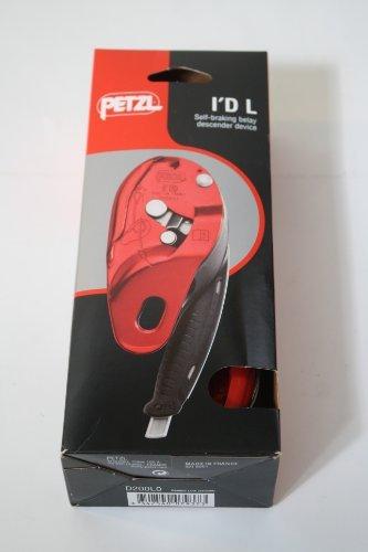 Petzl Pro I'D L Descender - Red