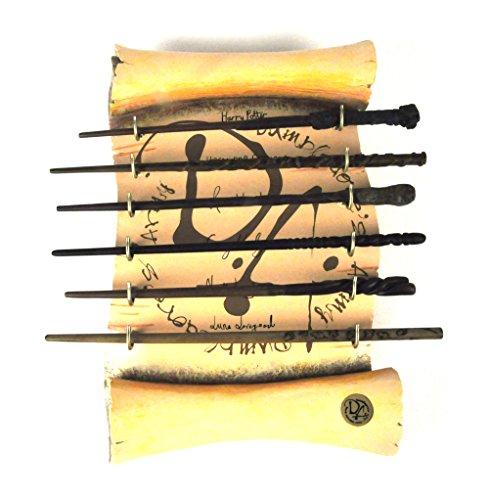 ハリー・ポッター Harry potter ダンブルドア 魔法の杖 6点+ ディスプレイセット コスプレ道具/小物 ワ