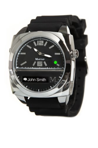 Martian Watches Victory Smart Watch (Black/Silver/Black)