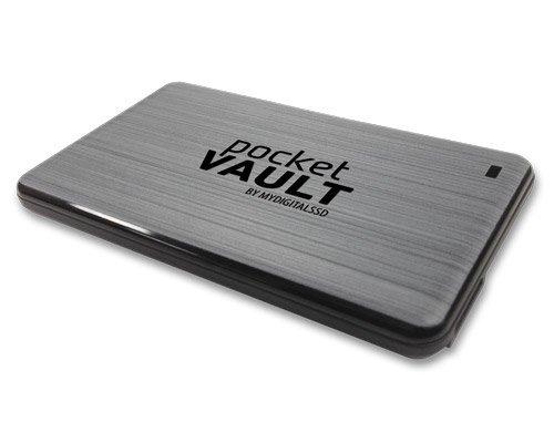 MyDigitalSSD PocketVault SuperSpeed USB 3.0 Portable External Solid State Storage Drive SSD (512GB