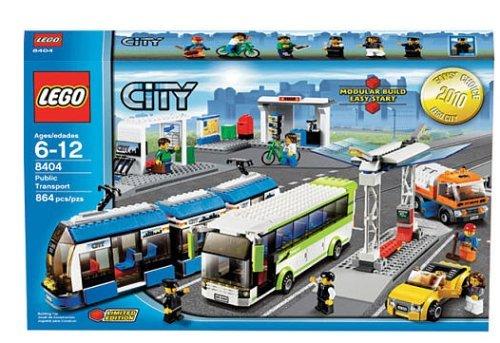 LEGO 8404 Public Transport Station レゴ シティ 8404 輸送ステーション