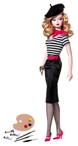 バービー アジア限定 バービー ファッションモデル コレクション アーティスト M4973 (ゴールドラベル)