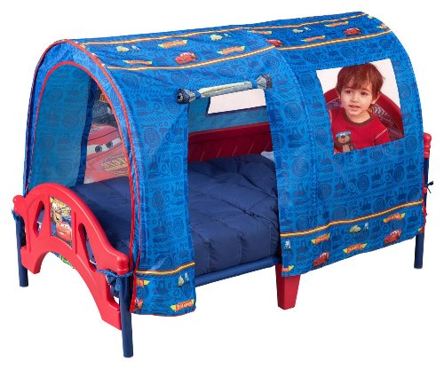 ディズニーピクサーカーズテントの幼児のベッド