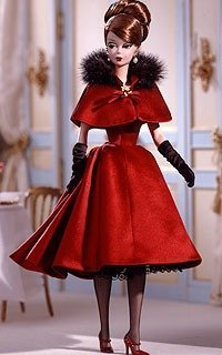 Barbie バービー Ravishing in Rouge. ( Fashion Model