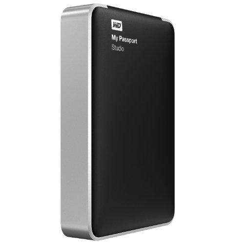 コンパクトで大容量 WDBU4M0020BBK-NESN WD パスポートスリム ポータブル 外付けハードドライブ(2TB) Wes