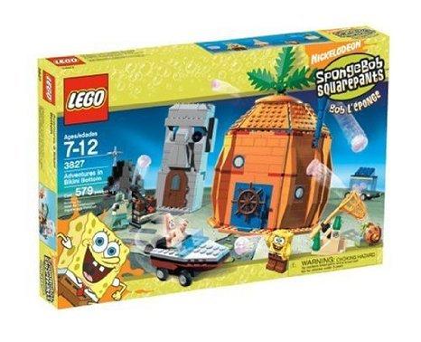 LEGO (レゴ) SpongeBob (スポンジボブ) Adventures at Bikini Bottom ブロック おもちゃ