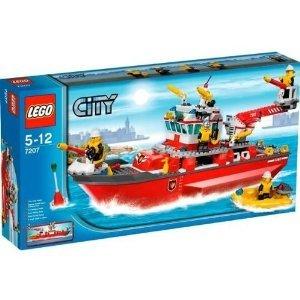 レゴ シティ ファイヤボート 7207