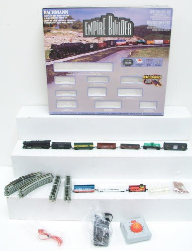 Bachmann N Scale Train Set Analog Empire Builder - 24009