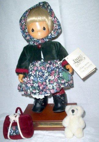 Hand-crafted 国際ブランド Wooden 新商品 新型 Precious Moments Natasha Doll 人形 ドール