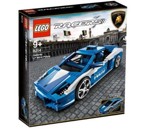 レゴ レーサーセット #8214 警察のランボルギーニ ガヤルド