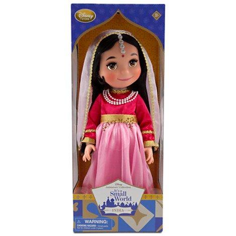 Disney ディズニー It's a Small World イッツアスモールワールド インディア ドール 約40cm 新作入荷,定番
