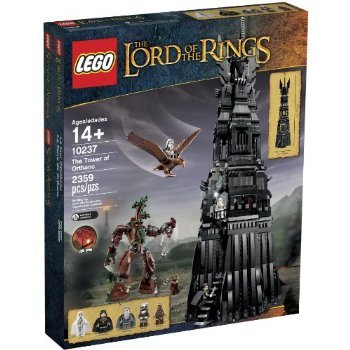 LEGO Lord of the Rings 10237 Tower of Orthanc Building Set おもちゃ