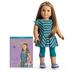 American Girl アメリカンガール McKenna Doll and Book Doll of the Year 2012 人形 ドール