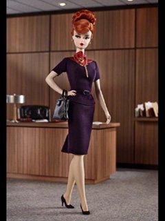 バービー バービーファッションモデルコレクション マッドメン ジョーン・ホールウェイ