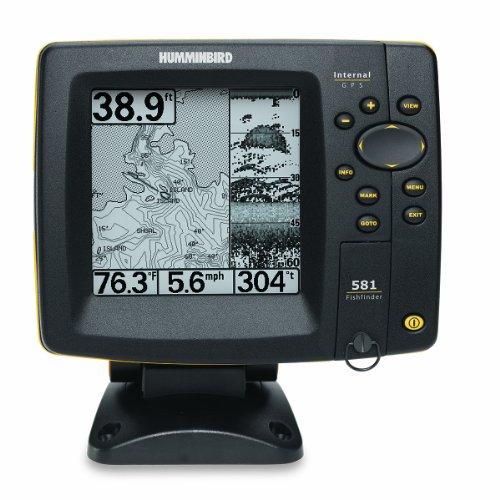 【魚群探知機】Humminbird ハミンバード魚探 581i 5-Inch Waterproof Marine GPS and Chartplotter with
