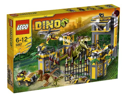 レゴ ダイノ ダイノ防衛基地 5887