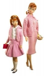 Knitting プリティー バービー 人形 Skipper ギフトセット コレクターズエディション 2 131002fnp 新作,HOT