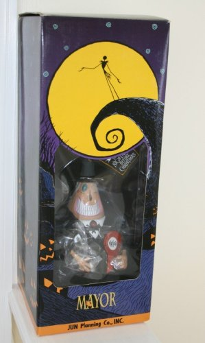 Tim Burton's NBX Japanese Collector's Doll Mayor 人形 ドール