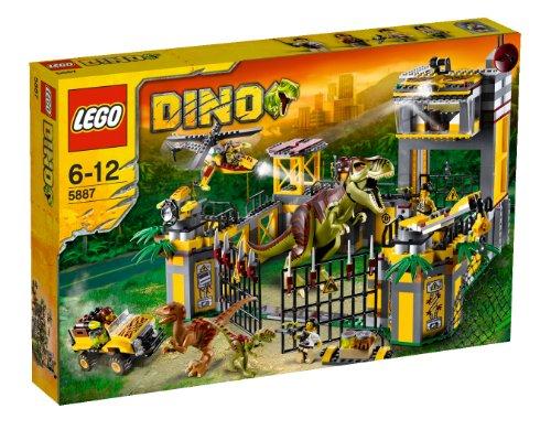 レゴ LEGO ダイノ ダイノ防衛基地 5887