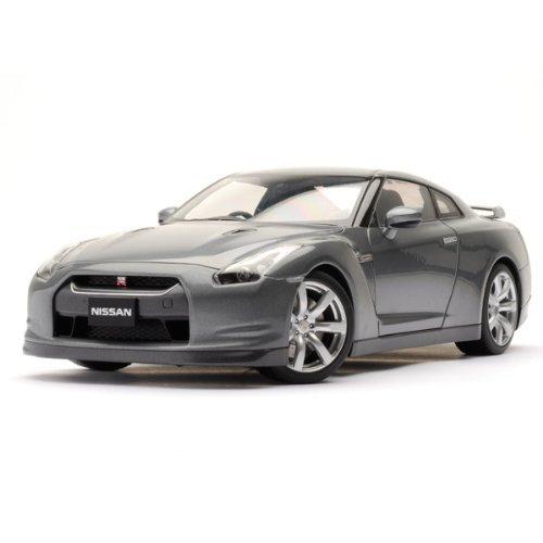 Nissan Nissan GT-r R35 Gray 1:18 Autoart autoart Diecast Model Car  miniature model cars Dica