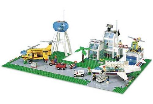レゴ シティ LEGO 10159 City Airport -- City Logo Box  レア物