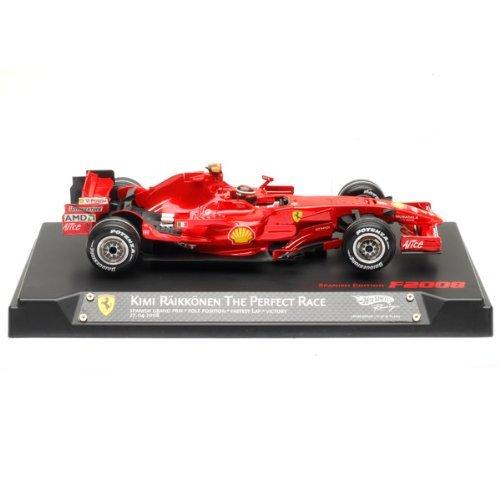 Kimi Ferrari フェラーリ F1 Hat Trick Spanish GP 1/18 F2008 1of3333 L8780ミニカー モデルカー ダイキ
