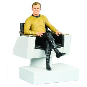Hollywood Collectibles スター Trek: クラシック Captain Kirk Statue