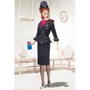 2006年製 Robert Best設計 Stewardess Barbie スチュワーデス バービー人形 ドールフィギュア 1/6
