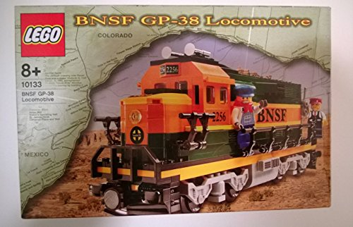 レゴ トレイン LEGO 10133 Burlington Northern Santa Fe (BNSF) GP-38 Locomotive