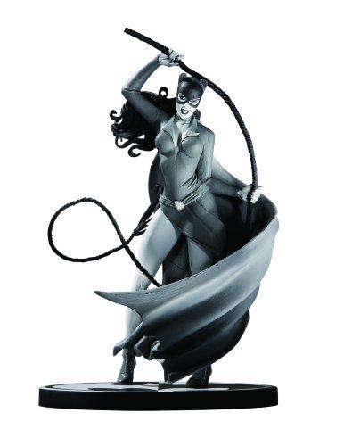 バットマン ブラック&ホワイトシリーズ ミニスタチュー/キャットウーマン/スティーブ・ルードのアートよ