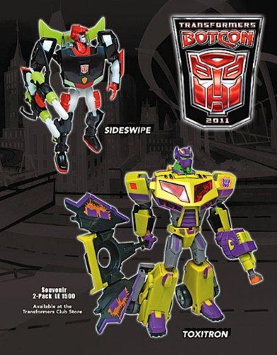 トランスフォーマー 2011ボットコン限定:サイドスワイプ&トキシトロン Sold