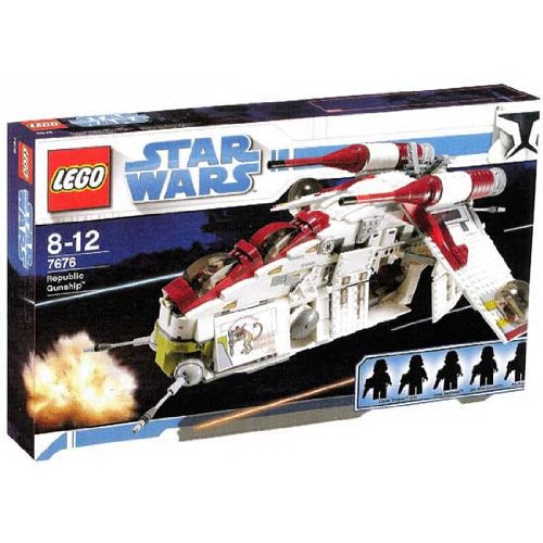 LEGO (レゴブロック:スターウォーズ)Star Wars Republic Gunship (リバブリック・アタック・ガンシップ)