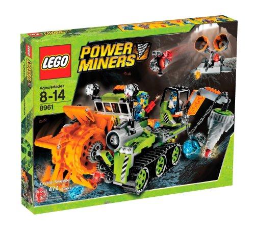 レゴ パワー・マイナーズ クリスタル・スイーパー パワー・マイナーズ6号 8961