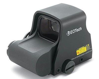 EOTech Transverse Red Dot Sight Black FN Less Lethal Reticle XPS2-FN